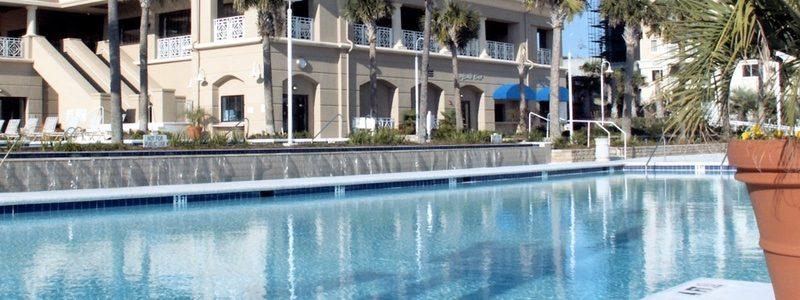 Spectacular ocean front pool complex