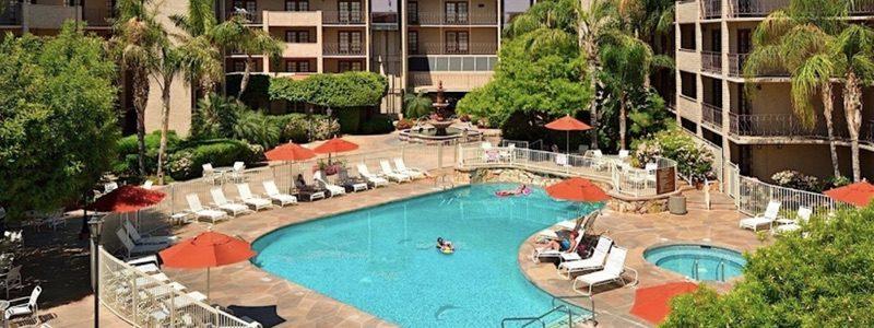 Embassy Suites pool