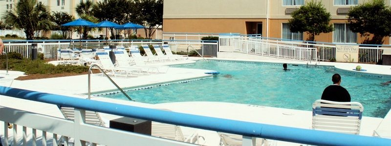Fairfield Inn pool