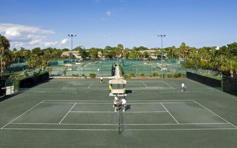 Comprehensive Tennis Facilities