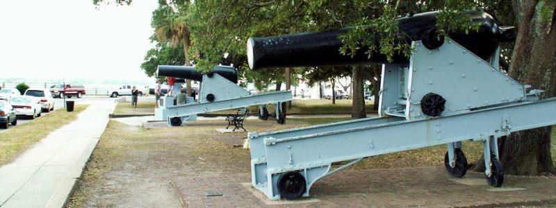 Battery Park guns