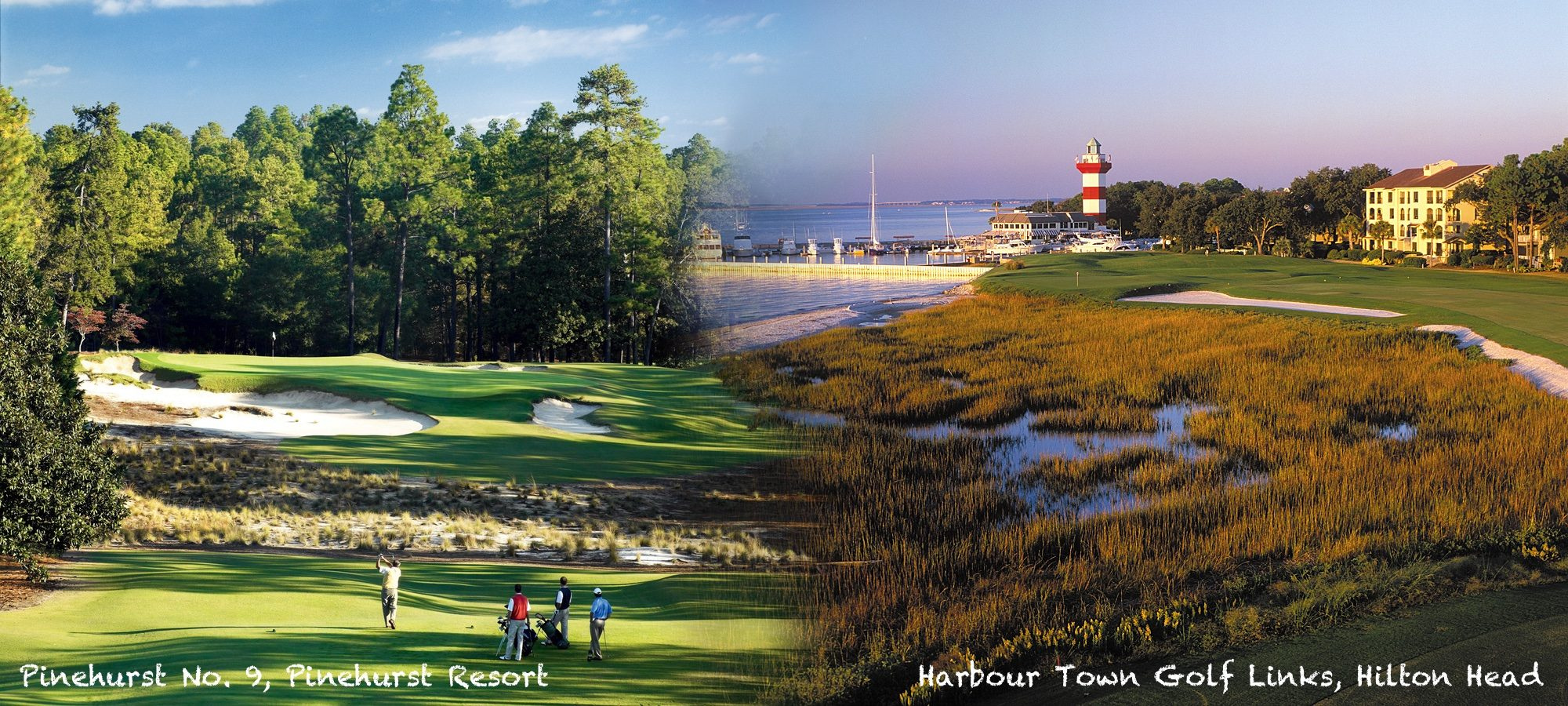 Pinehurst Resort and Hilton Head