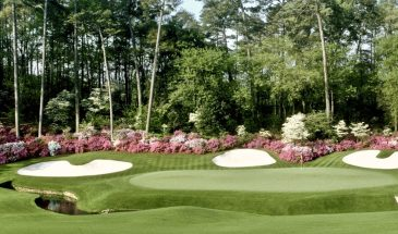 Augusta National 13th hole